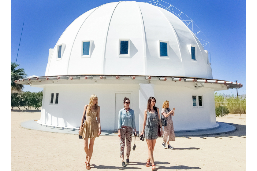 Girls on private retreat at Integratron